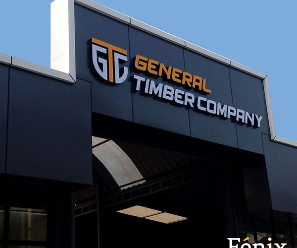 fenix advertising branding work for Generat timber company