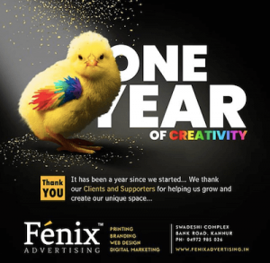 fenix advertising kannur first anniversary